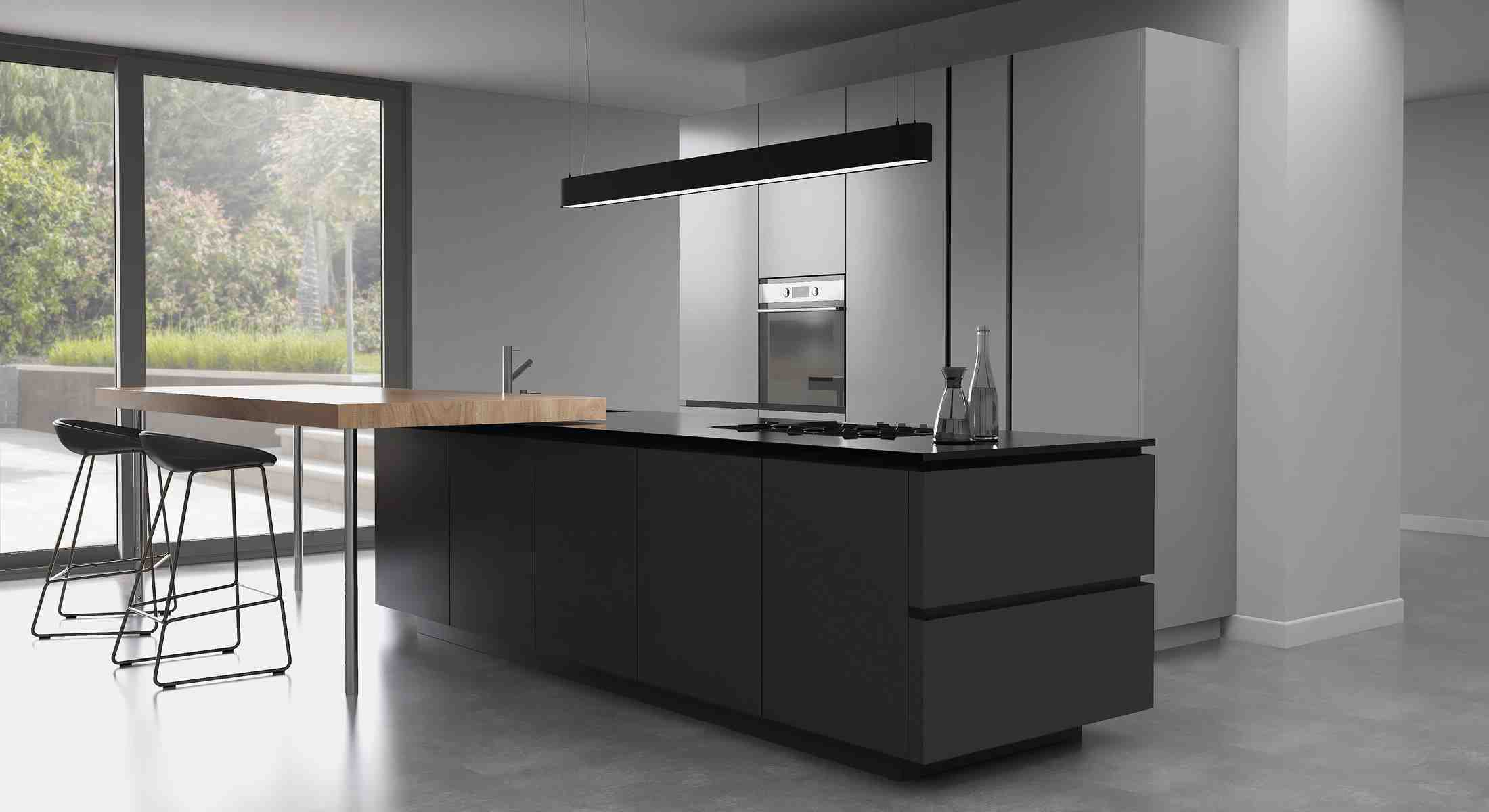 kitchens in burryport, wales by steve williams - tribeca - true handleless