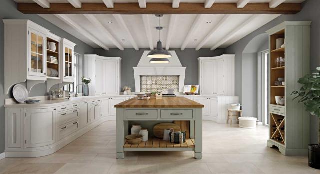 kitchens in burryport, wales by steve williams - hawkesbury