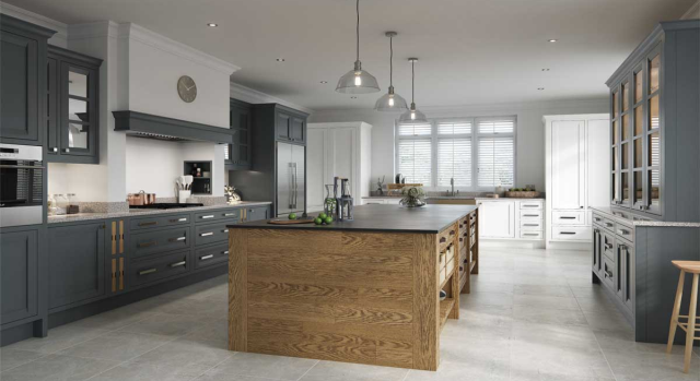 kitchens in burryport, wales by steve williams - peterborough