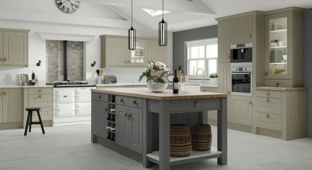 kitchens in burryport, wales by steve williams - amalfi - matte