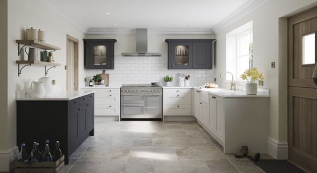kitchens in burryport, wales by steve williams - belsay