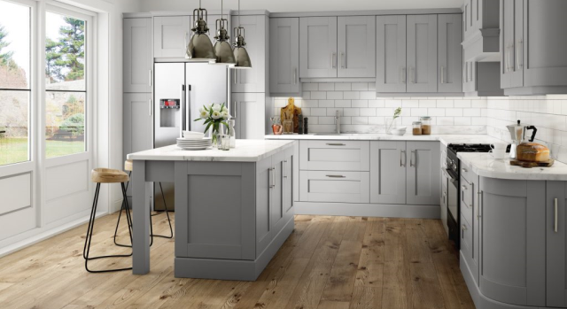 kitchens in burryport, wales by steve williams - bonn - serica super matte