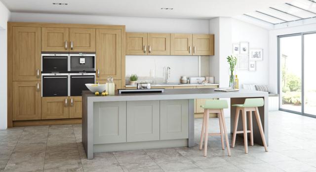 kitchens in burryport, wales by steve williams - clonmel - oak