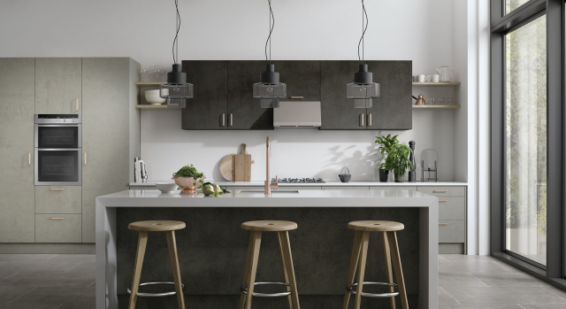 kitchens in burryport, wales by steve williams - cutler - matte