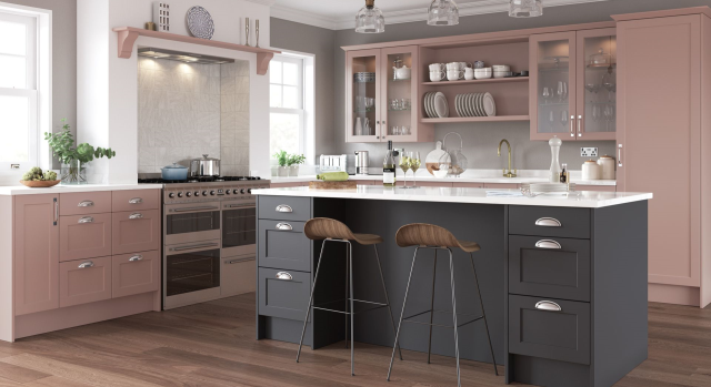 kitchens in burryport, wales by steve williams - horton - serica - stock