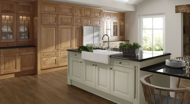 kitchens in burryport, wales by steve williams - jefferson - oak