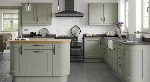 kitchens in burryport, wales by steve williams - kensington - painted to order