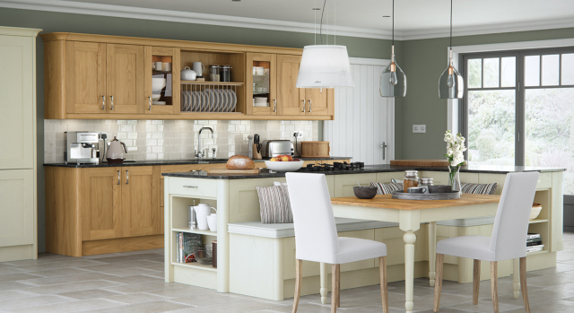 kitchens in burryport, wales by steve williams - madison - oak