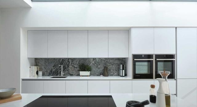 kitchens in burryport, wales by steve williams - phoenix - gloss - true handleless