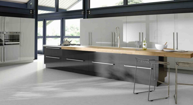 kitchens in burryport, wales by steve williams - phoenix - gloss