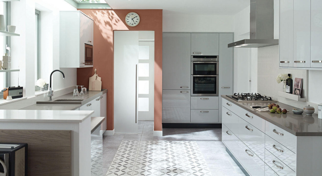 kitchens in burryport, wales by steve williams - porter - gloss