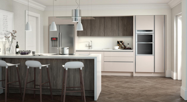 kitchens in burryport, wales by steve williams - porter - matte - true handleless