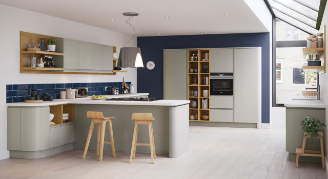 kitchens in burryport, wales by steve williams - strada - matte