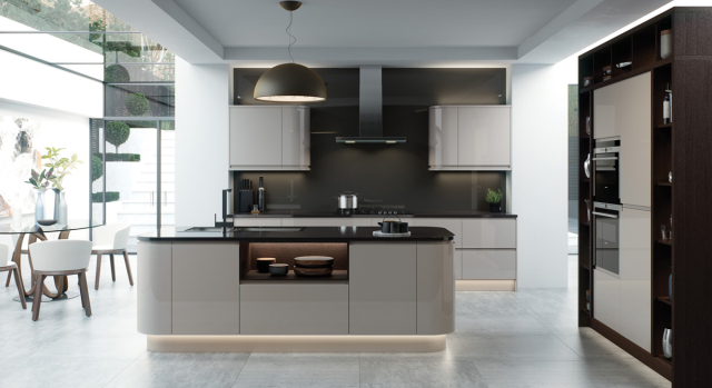 kitchens in burryport, wales by steve williams - strada - gloss