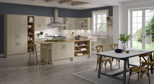 kitchens in burryport, wales by steve williams - siesta - serica super matte