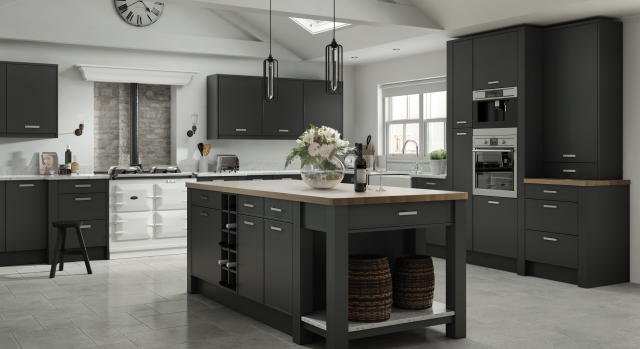 kitchens in burryport, wales by steve williams - vilo - matte
