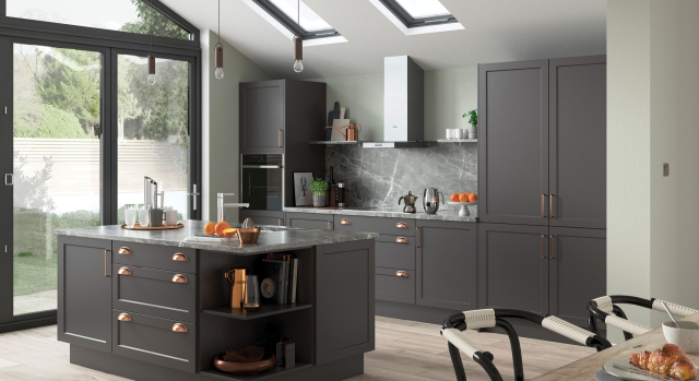 kitchens in burryport, wales by steve williams - woking - serica super matte