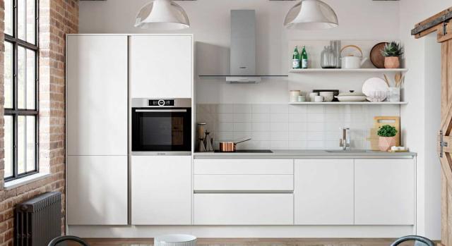 kitchens in burryport, wales by steve williams - zola - matte pvc - true handleless