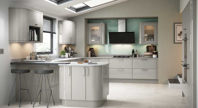 kitchens in burryport, wales by steve williams - zola - gloss