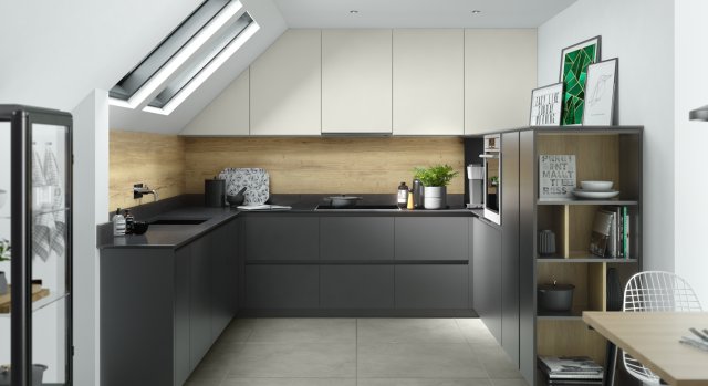 kitchens in burryport, wales by steve williams - zoom - matte - true handleless