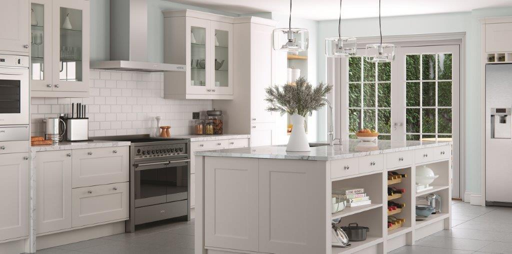 florence light grey kitchen trade kitchen details