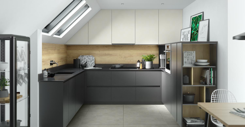 egger zoom matte true handleless by sinc kitchen. Black Bedroom Furniture Sets. Home Design Ideas